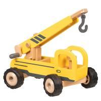 Baufahrzeuge mit Gummibereifung | Kranwagen