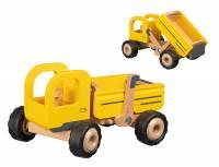 Baufahrzeuge mit Gummibereifung | Kipper