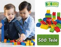BiOBUDDi education Create 500er Set mit Filzkorb