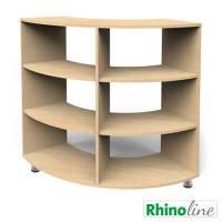 RhinoLine | Viertelkreisschrank - Höhe 119,1 cm