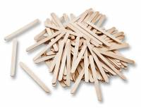 Bastelstäbchen aus Holz | 500er Set Natur
