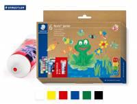 Noris® junior Fingermalfarbe MALI 75 ml | 6er Set