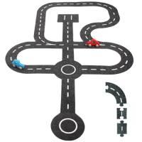 Spielstraße aus Filz | 30 Teile