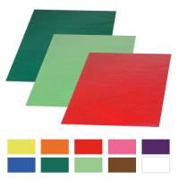 Transparentpapier 70 x 100 cm - 25 Bogen in 10 Farben