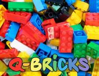 Q-BRICKS Kindergarten Set - Basic | 2000 Bausteine
