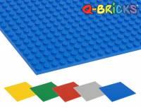 Q-BRICKS Bausteinplatten | 5er Set